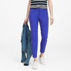 BANANA REPUBLIC Sloan Skinny Pant NWT 6 Royal Blue